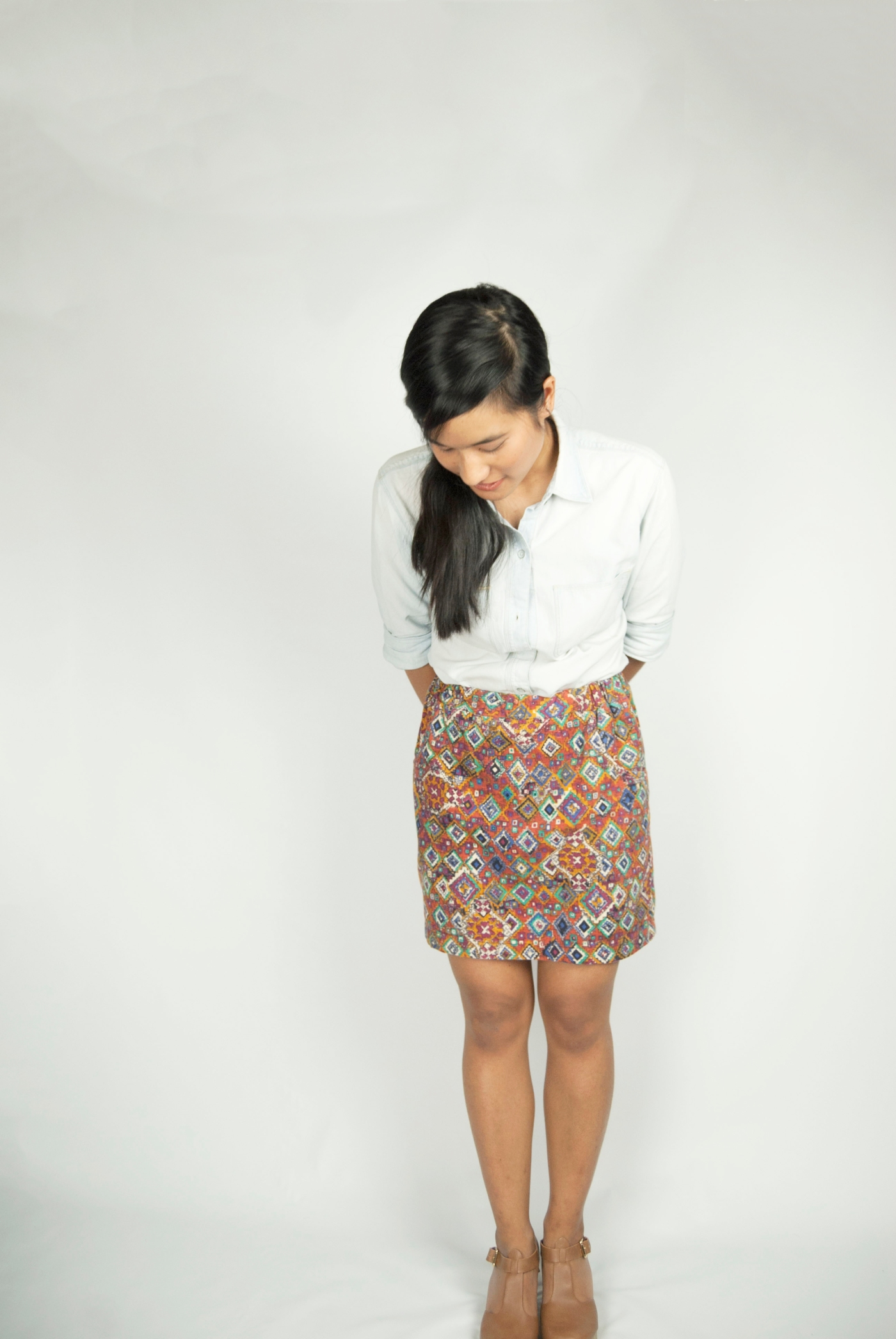 native skirt chambray top select-4